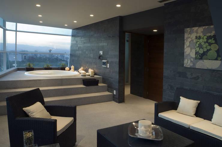 Skyview Polanco: Spa de estilo  por ARCO Arquitectura Contemporánea