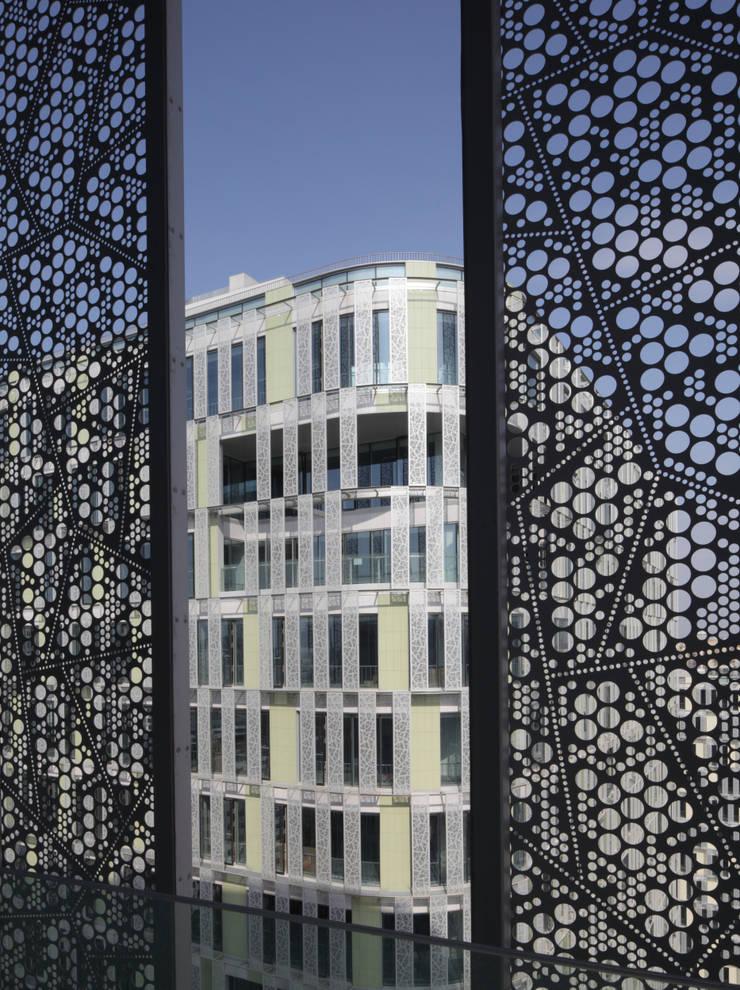 上海漕河経3号地オフィスプロジェクト: 長谷川逸子・建築計画工房が手掛けたです。