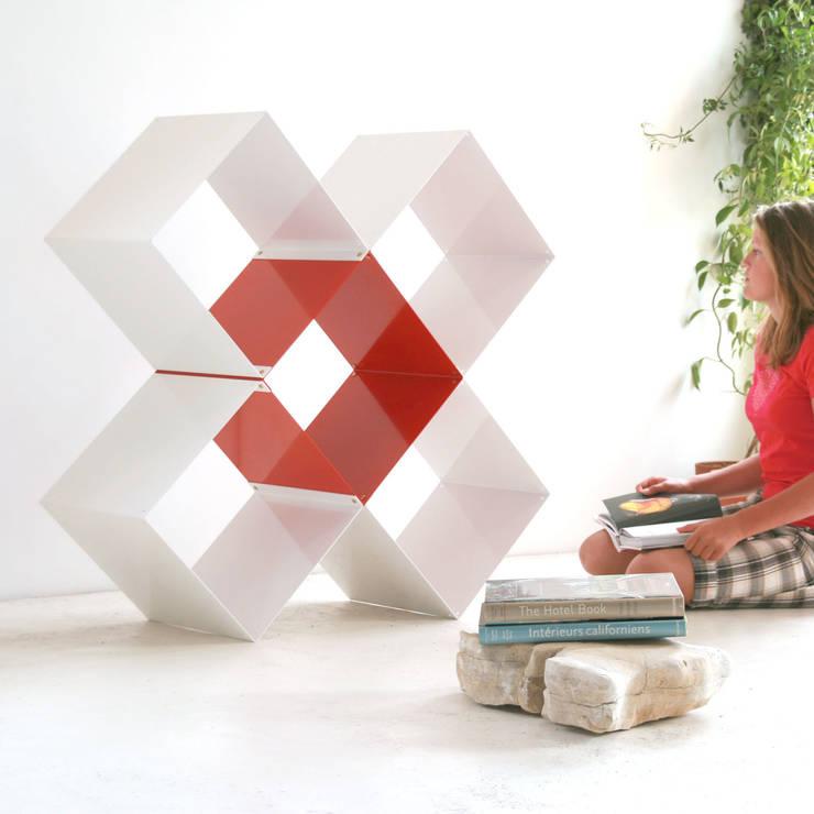 Quad 5 modules: Maison de style  par Dom Trapp