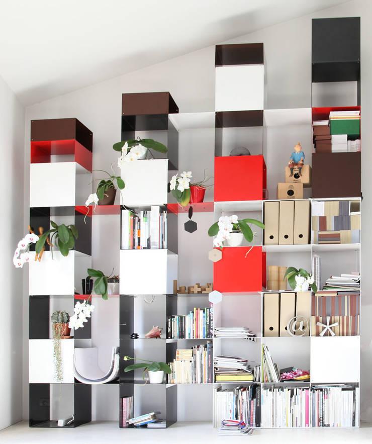 Quad structure: Maison de style  par Dom Trapp