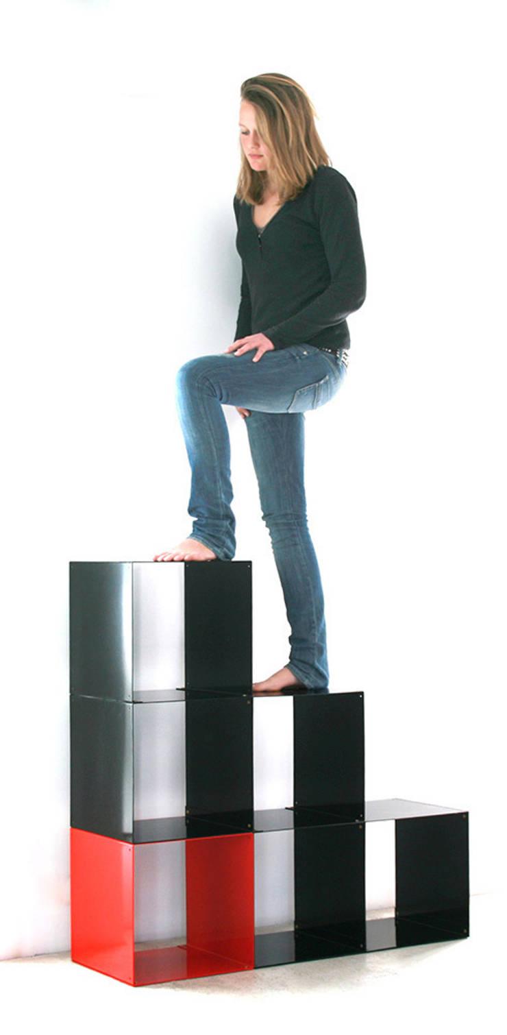 Quad 6 modules: Maison de style  par Dom Trapp