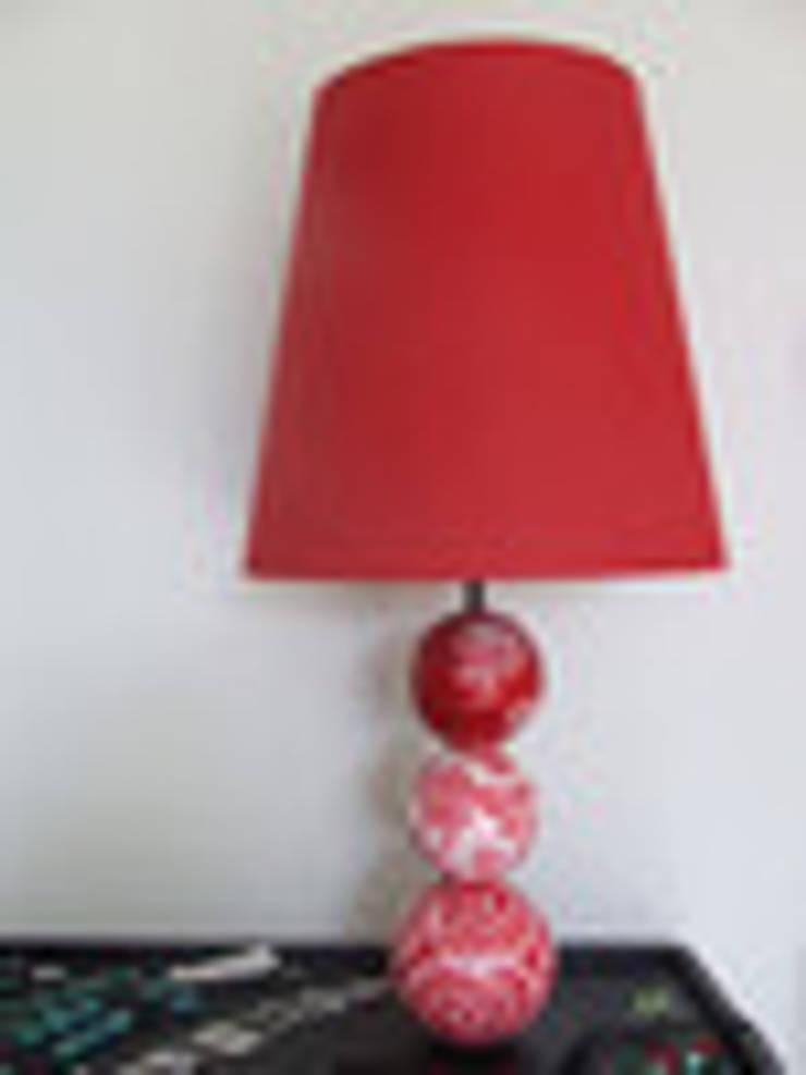 Lampe ART'ZAZIMUT rouge:  de style  par artzazimut