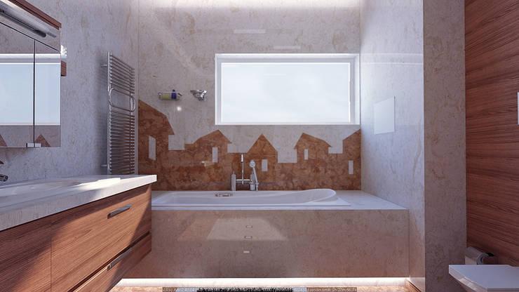 Ванные комнаты в . Автор – Architoria 3D, Минимализм