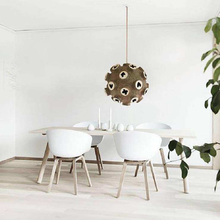 Sala de jantar  por The Paper Moon Factory
