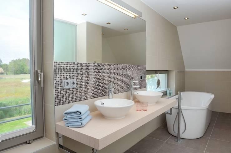 Ванные комнаты в . Автор – die raumplaner