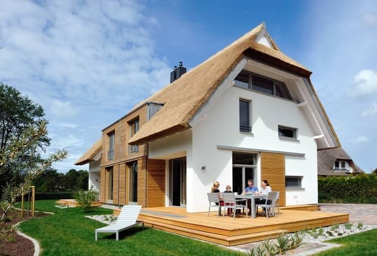 Huizen door die raumplaner