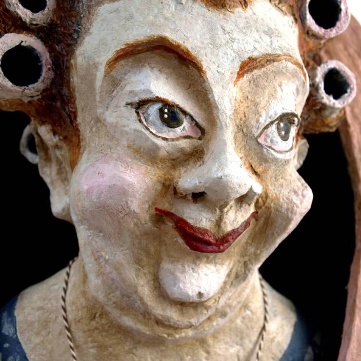 Tante Adele:  Kunst  door The Paper Moon Factory