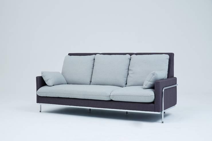 Grande Sofa(그란데소파): 잭슨카멜레온의  거실