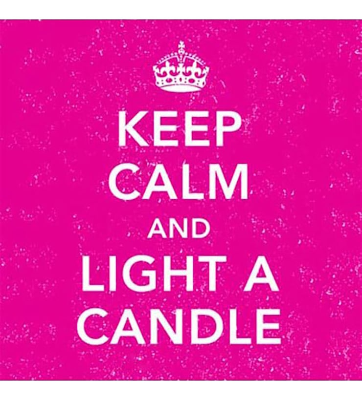 Boites d'allumettes Keep Calm and Light a Candle: Maison de style  par LA BELLE MÈCHE