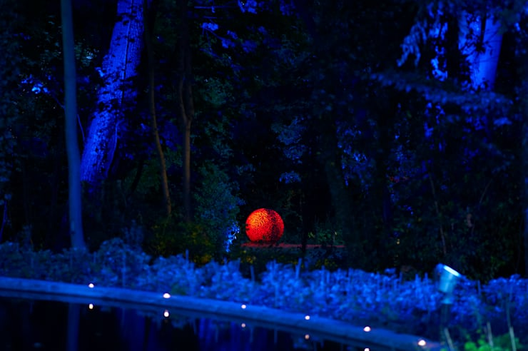 sculpture nuit:  de style  par Artlight Design
