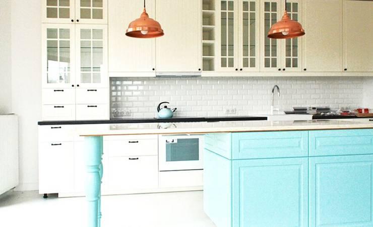wnętrza nisza: styl , w kategorii Kuchnia zaprojektowany przez NISZA DESIGN ,