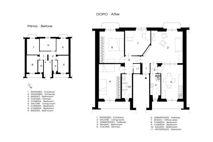 _Mondrian Home_:  in stile  di Alessandro Multari Ingegnere - I AM puro ingegno italiano