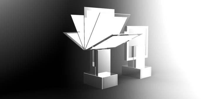 luminaire Oled:  de style  par Easign Studio