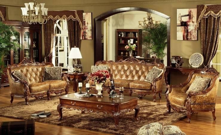 Cambridge Classic Grand: classic Living room by Locus Habitat