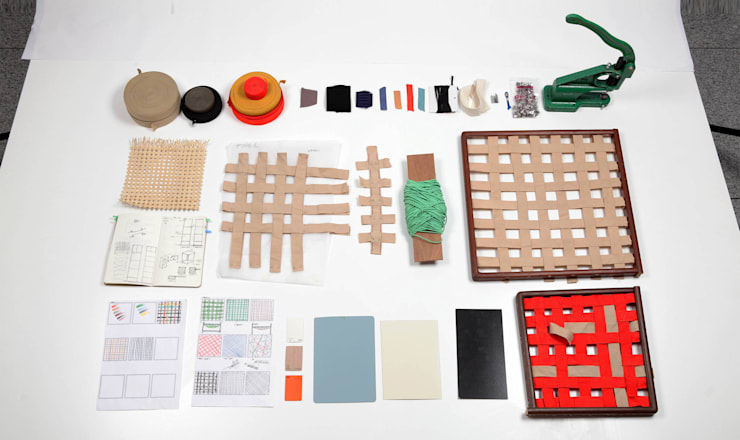 Rubber bands project : SA_BANG_TAK_JA-Storage: daam-so의  거실