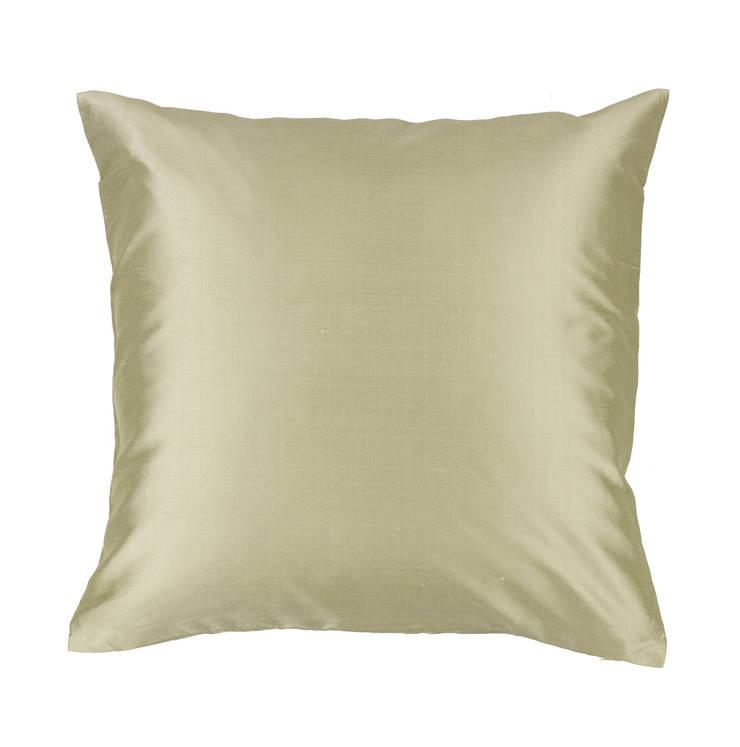 Classic Celadon Handmade Silk Cushion:  Living room by Le Cocon