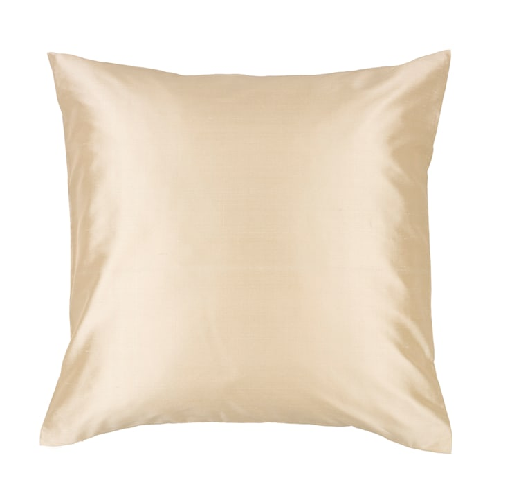 Classic Ivory Handmade Silk Cushion:  Living room by Le Cocon