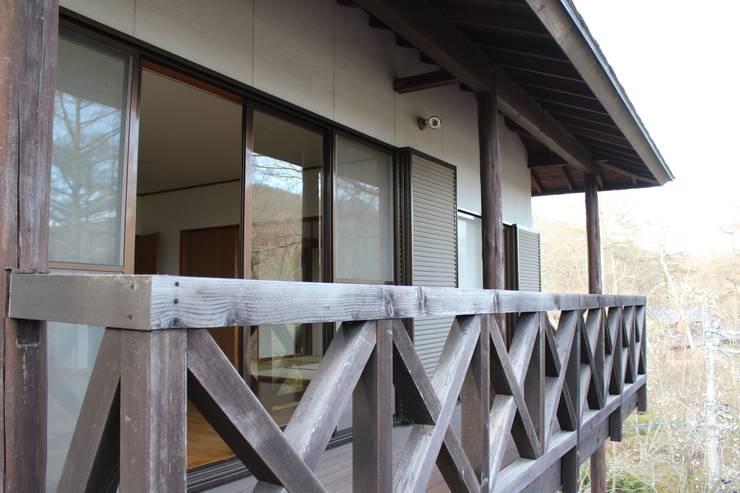 改修前のテラス の 一級建築士事務所 アトリエ カムイ