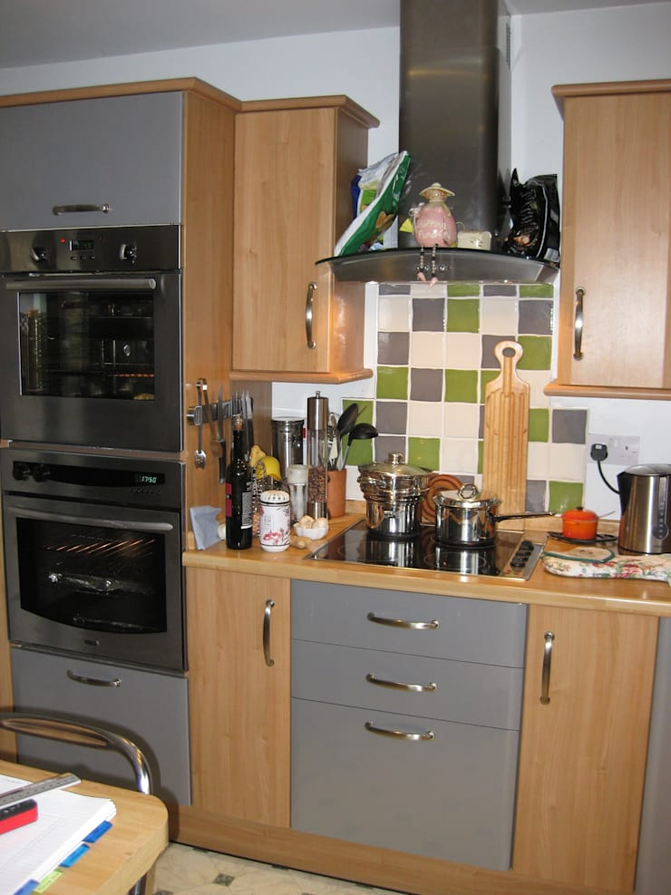before picture:  Kitchen by 2A Design