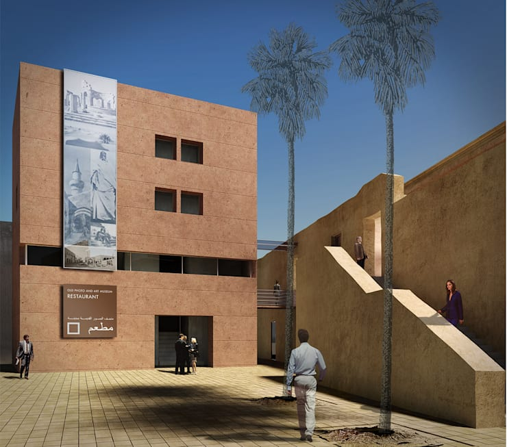 Old Photo Art Museum:  in stile  di arcHITects srl