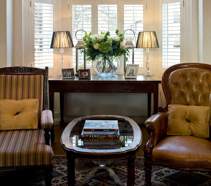Victorian home renovation:   by Elena Romanova Interiors