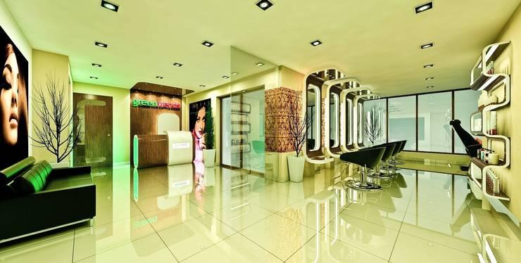 Salon Interiors By Mrn Associates Homify