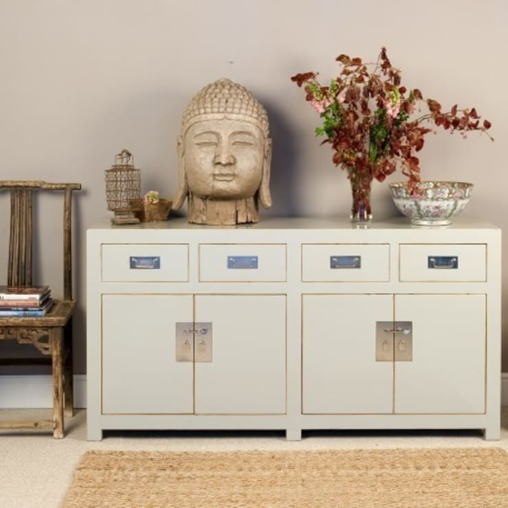 Grey Lacquer Sideboard - Mandarin Collection:  Living room by Orchid