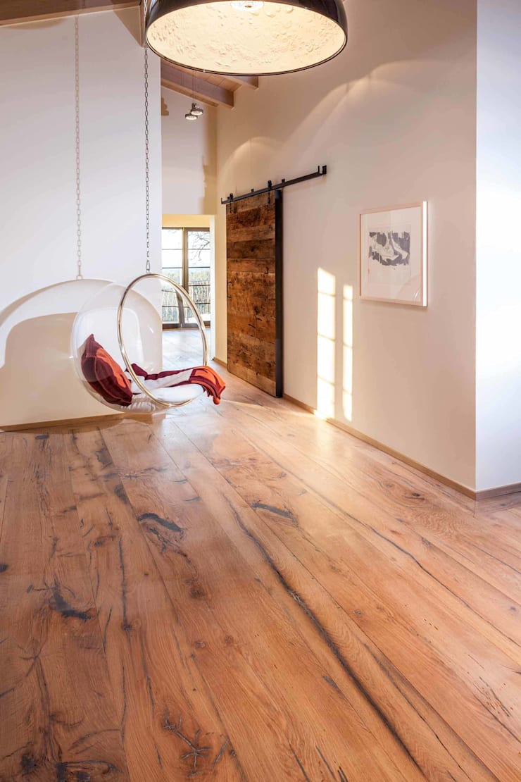 Landhausdiele:  Arbeitszimmer von old oak,Landhaus