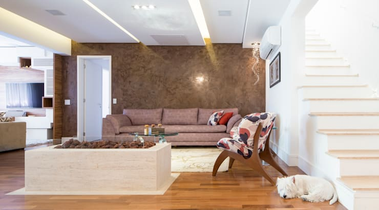 Living room by ArkDek, Eclectic