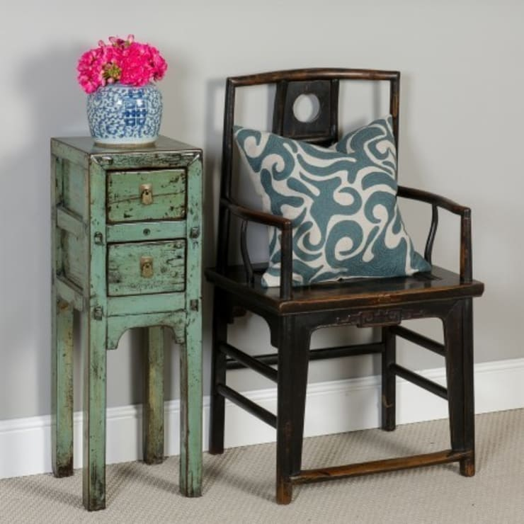 Chinese Elm Chair. c.1860 Shanxi Province:  Dining room by Orchid