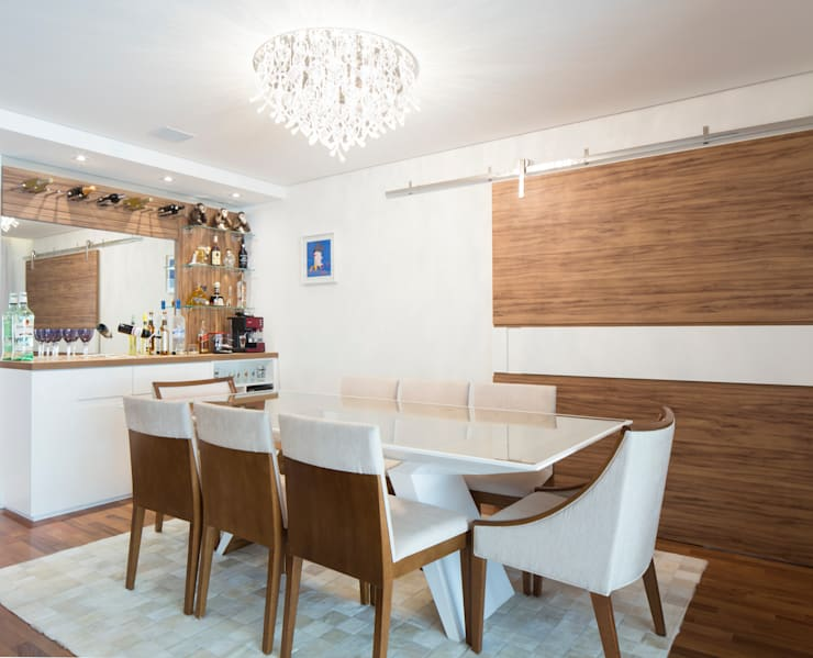 Dining room by ArkDek, Eclectic