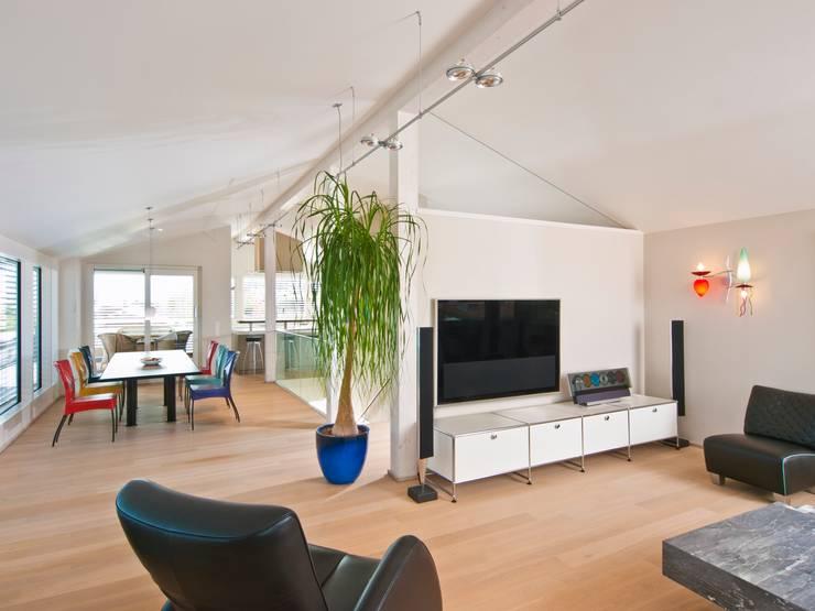 Salon de style  par Bau-Fritz GmbH & Co. KG