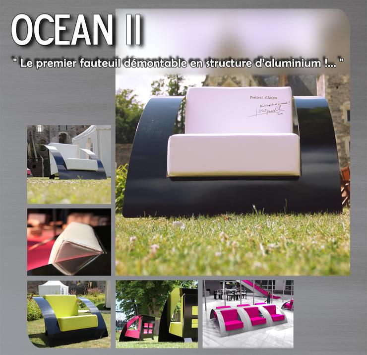 Fauteuil & canapé OCEAN:  de style  par Lionel Besse