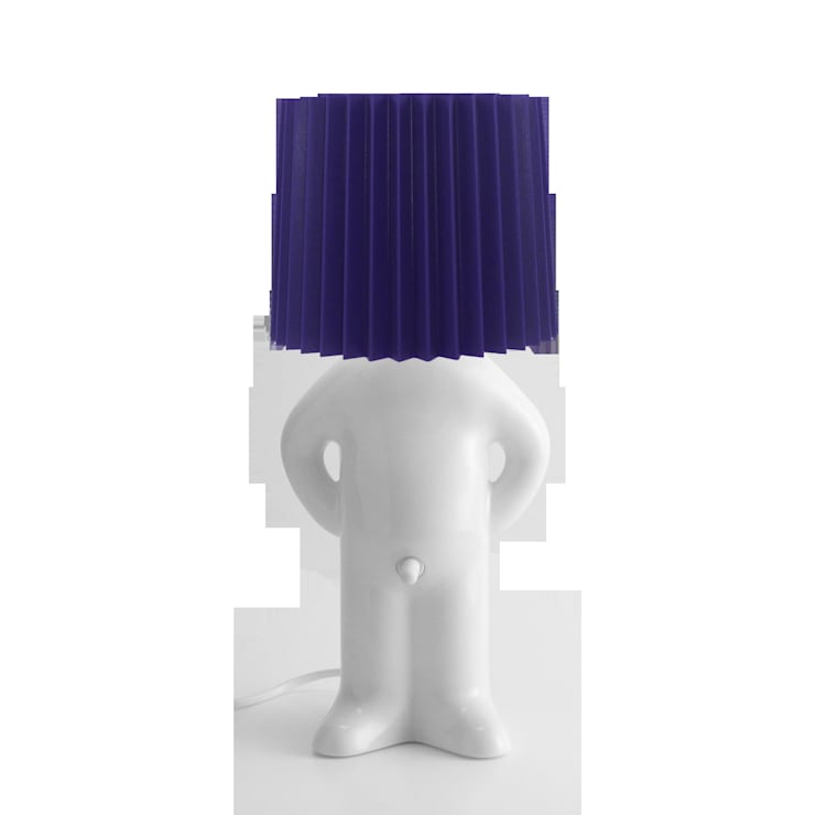 Mr P One One Shy Lamp:   by Vale Furnishers
