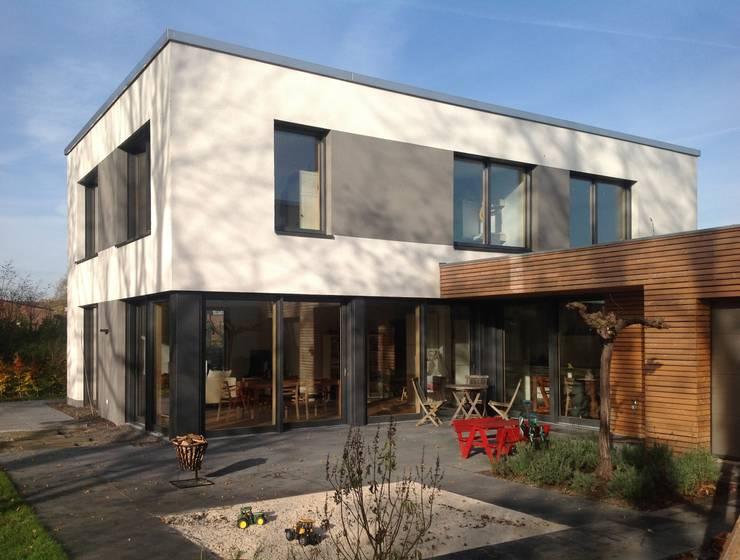 Projekty,  Domy zaprojektowane przez benthaus|architekten
