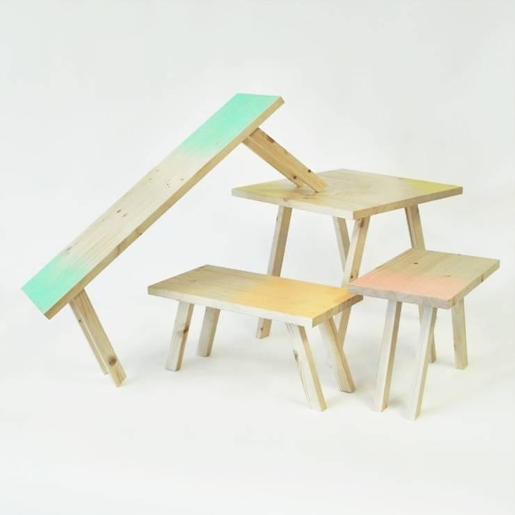 Mon Petit Bois: Chambre d'enfants de style  par Iris Delvalle