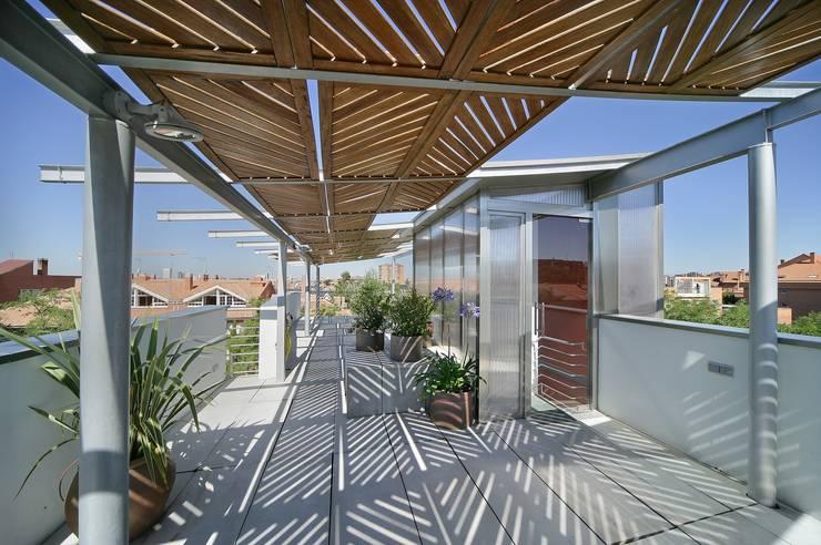 Projekty,  Taras zaprojektowane przez JoseJiliberto Estudio de Arquitectura