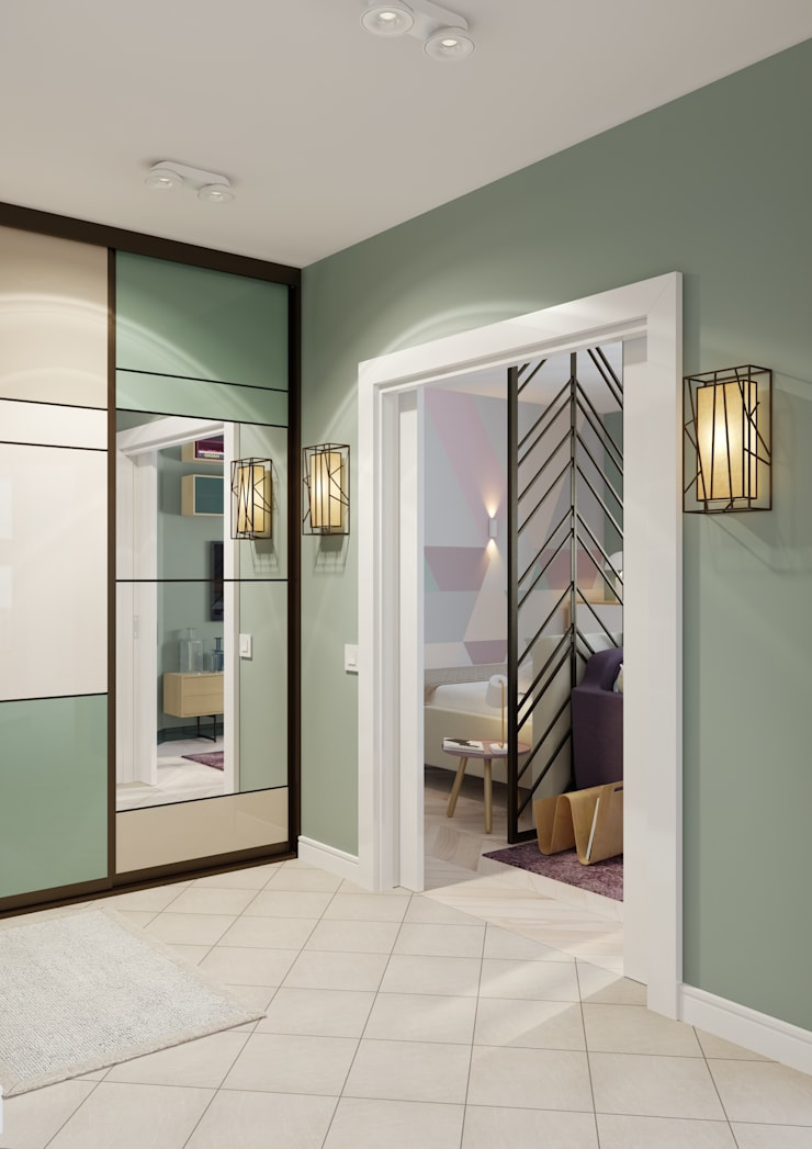Modern Corridor, Hallway and Staircase by Anna Clark Interiors Modern
