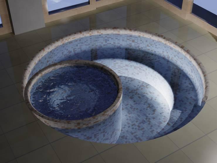 Vasca idromassaggio: Piscine in stile  di noema concept