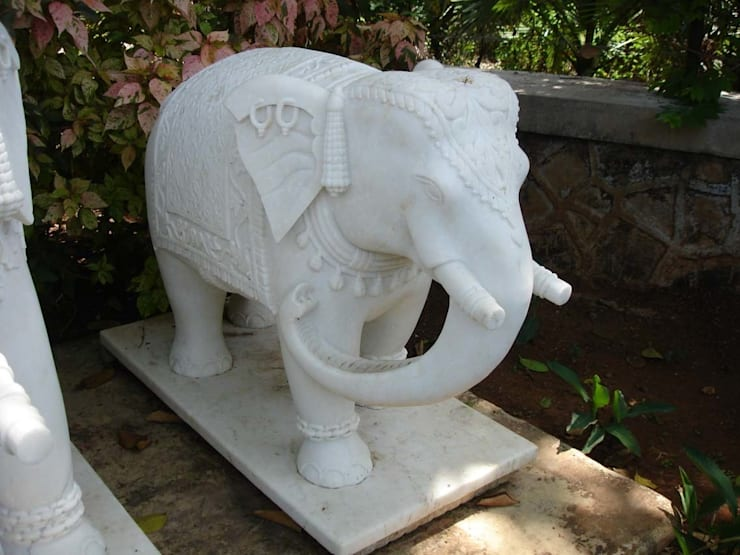 "Marble Animals : Elephant: {:asian=>""asian"", :classic=>""classic"", :colonial=>""colonial"", :country=>""country"", :eclectic=>""eclectic"", :industrial=>""industrial"", :mediterranean=>""mediterranean"", :minimalist=>""minimalist"", :modern=>""modern"", :rustic=>""rustic"", :scandinavian=>""scandinavian"", :tropical=>""tropical""}  by G.K. Corp,"