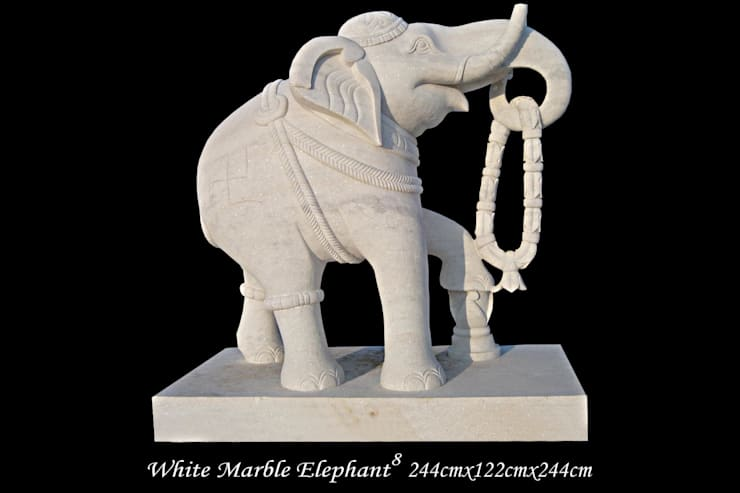 "Marble Animal : Elephant: {:asian=>""asian"", :classic=>""classic"", :colonial=>""colonial"", :country=>""country"", :eclectic=>""eclectic"", :industrial=>""industrial"", :mediterranean=>""mediterranean"", :minimalist=>""minimalist"", :modern=>""modern"", :rustic=>""rustic"", :scandinavian=>""scandinavian"", :tropical=>""tropical""}  by G.K. Corp,"