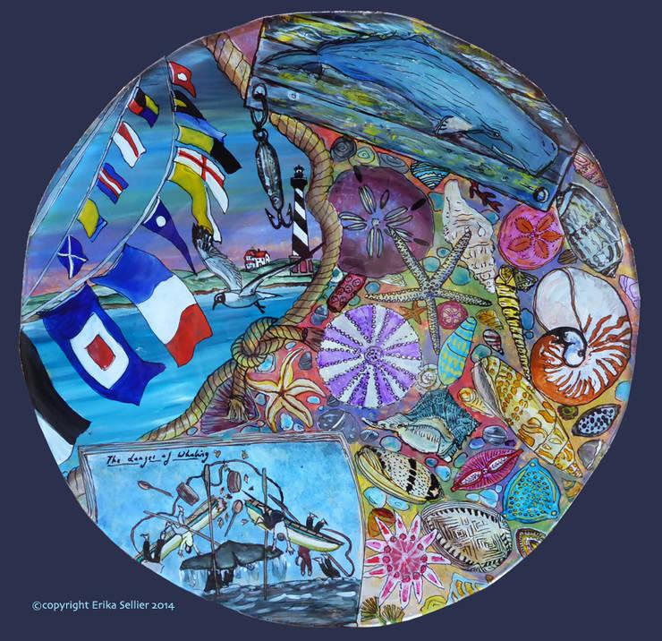 wind and sea: Art de style  par ERIKA SELLIER Créations