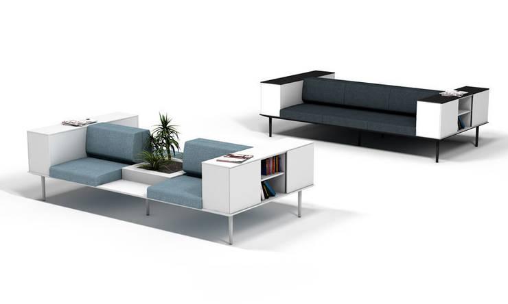 LONGO by Ramos & Bassols: Oficinas y tiendas de estilo  de Actiu