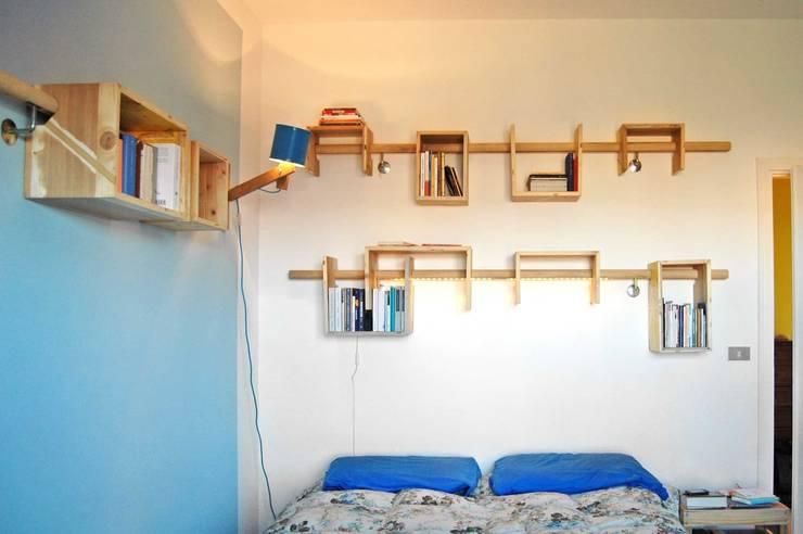 Mobilier de chambre à coucher: Chambre de style  par JULIE LABBÉ