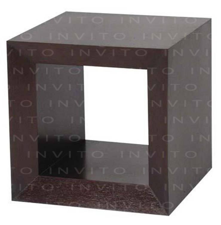 Mesa de Centro Cubo: Salas de estilo  por INVITO