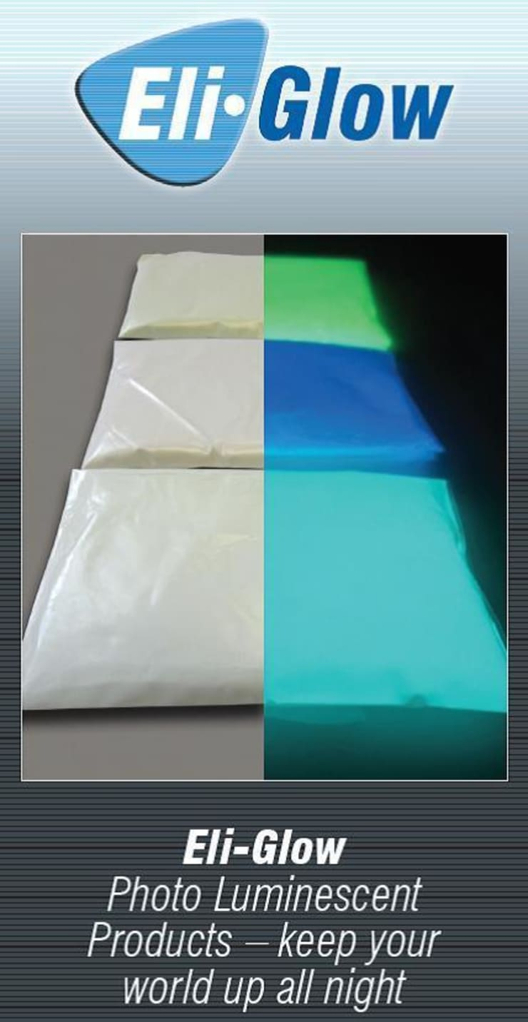 Transforming artwork using Eli-Glow Photo luminescent Pigments:  Artwork by Eli-Chem Resins U.K Ltd