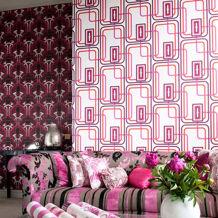 Night Fever and Gloria Wallpaper:  Walls & flooring by Gill Nono