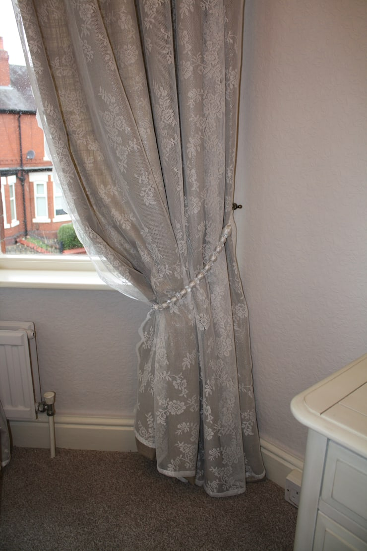 curtains after:  Bedroom by Girl About The House