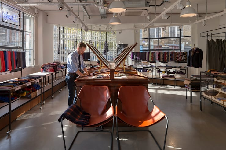 Drakes Headquarters, 76 East Road:  Offices & stores by Hawkins/Brown