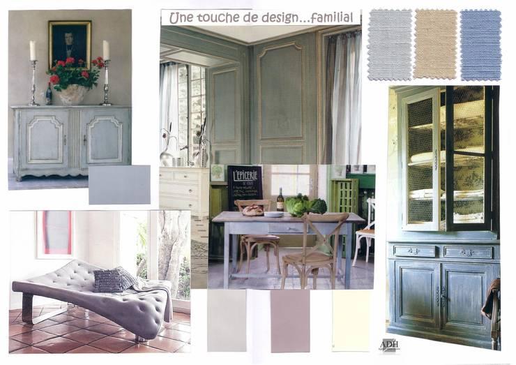 Une touche de design...: Jardin de style  par APPART-DECOHOME